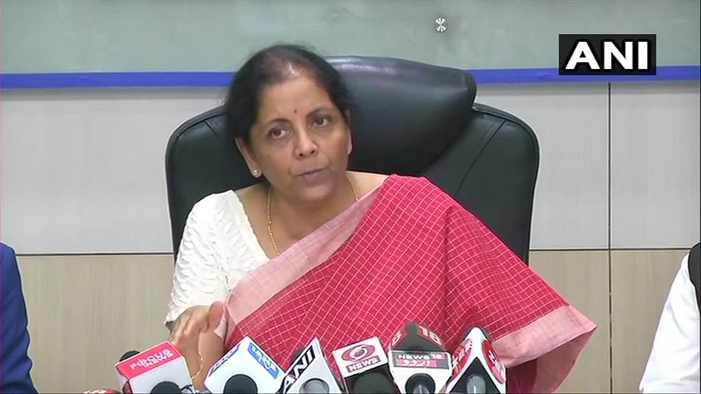 No liquidity problems faced by financial institutions: Nirmala Sitharaman