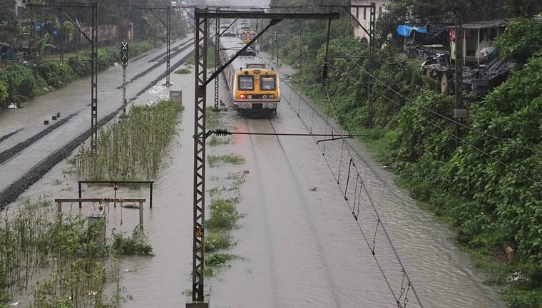 Mumbai Rains: Suburban harbour line services restored, says Central Railway
