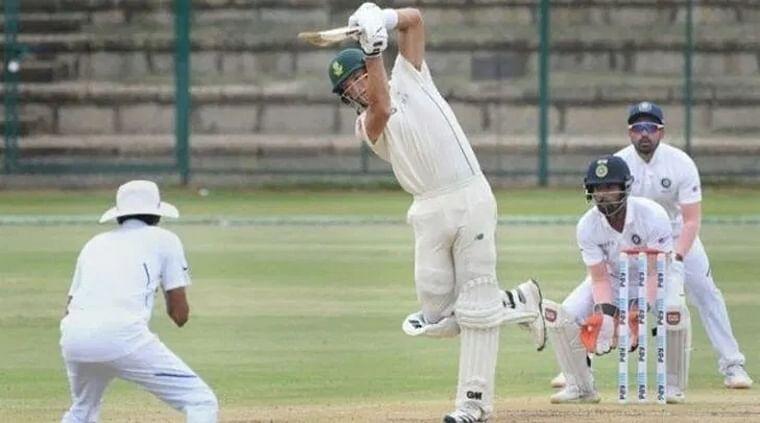 Aiden Markram ton, Temba Bavuma fifty help South Africa reach 199/4 against Board President's XI