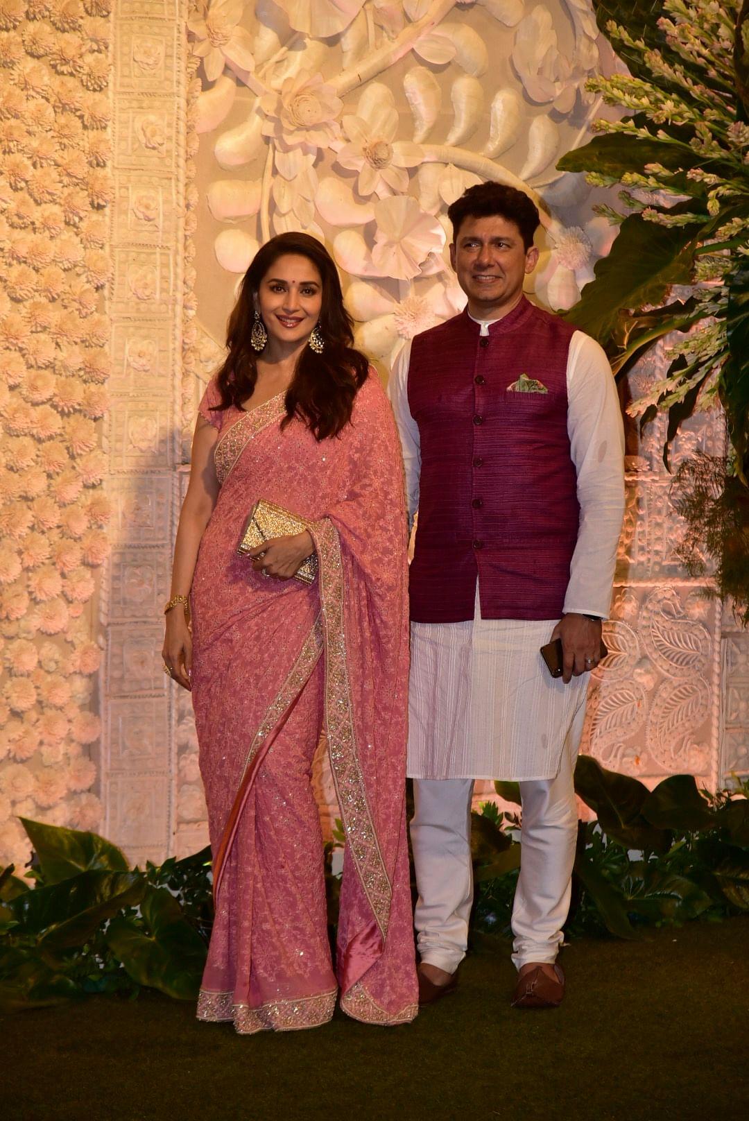 Madhuri Dixit and Sriram Madhav Nene