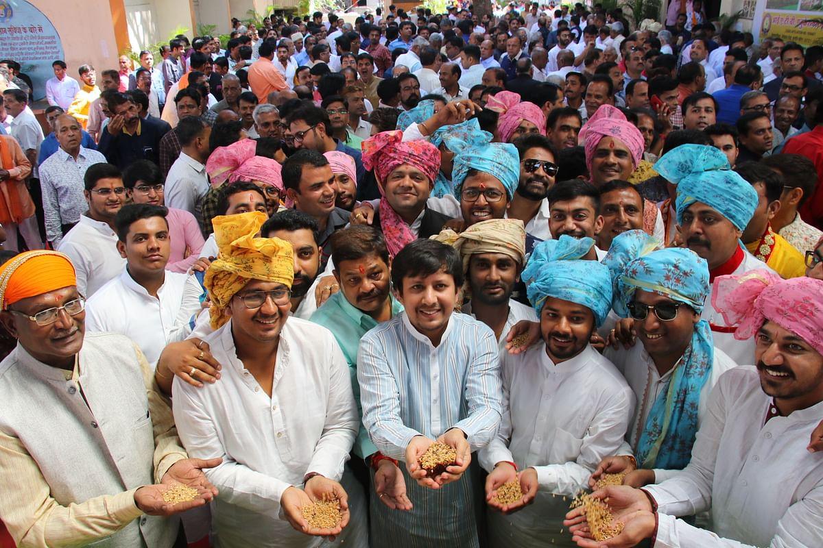 Indore: Mandis open after; Diwali break 10,000 quintals of pulses traded