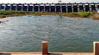File photo of Lower Dudhana dam in Parbhani