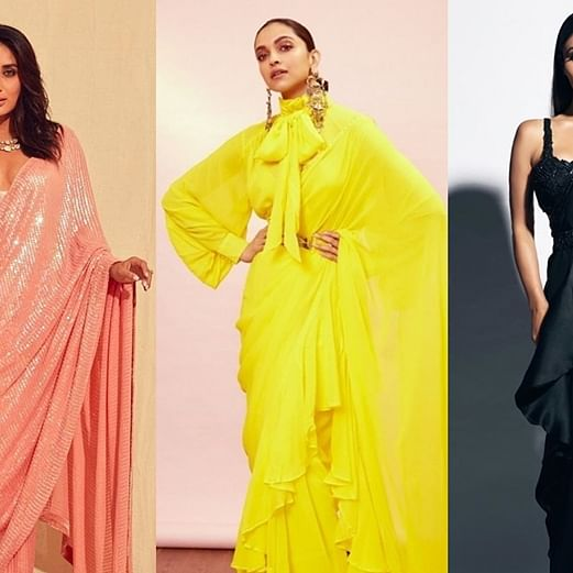 Karwa Chauth 2019: 10 quirky ways to style sarees like Bollywood divas