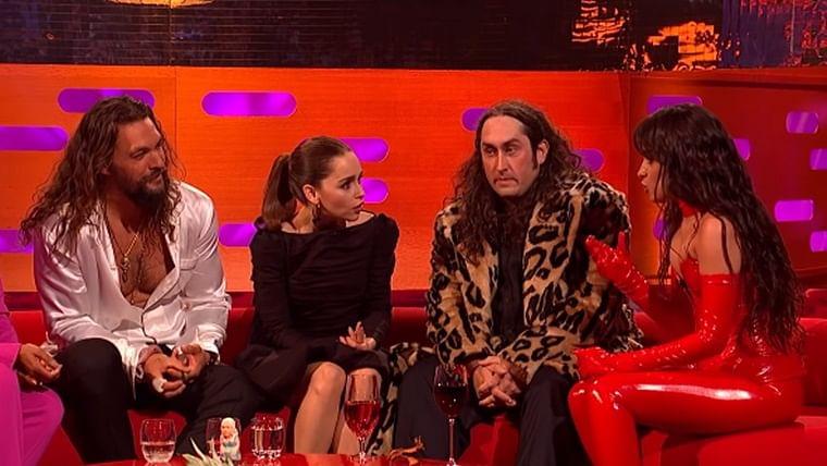'GoT' fan Camila Cabello on cloud nine after meeting Khaleesi and Khal Drogo