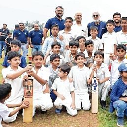 Rohit Sharma launched CricKindom Cricket academy