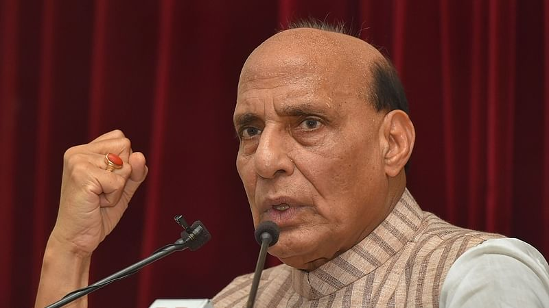 Rajnath Singh to hold talks with French President Emmanuel Macron before sortie in Rafale jet