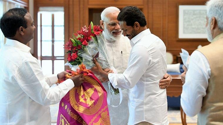 Andhra Pradesh CM Jagan Mohan Reddy meets PM Narendra Modi, invites him for 'Raithu Bharosa' scheme launch