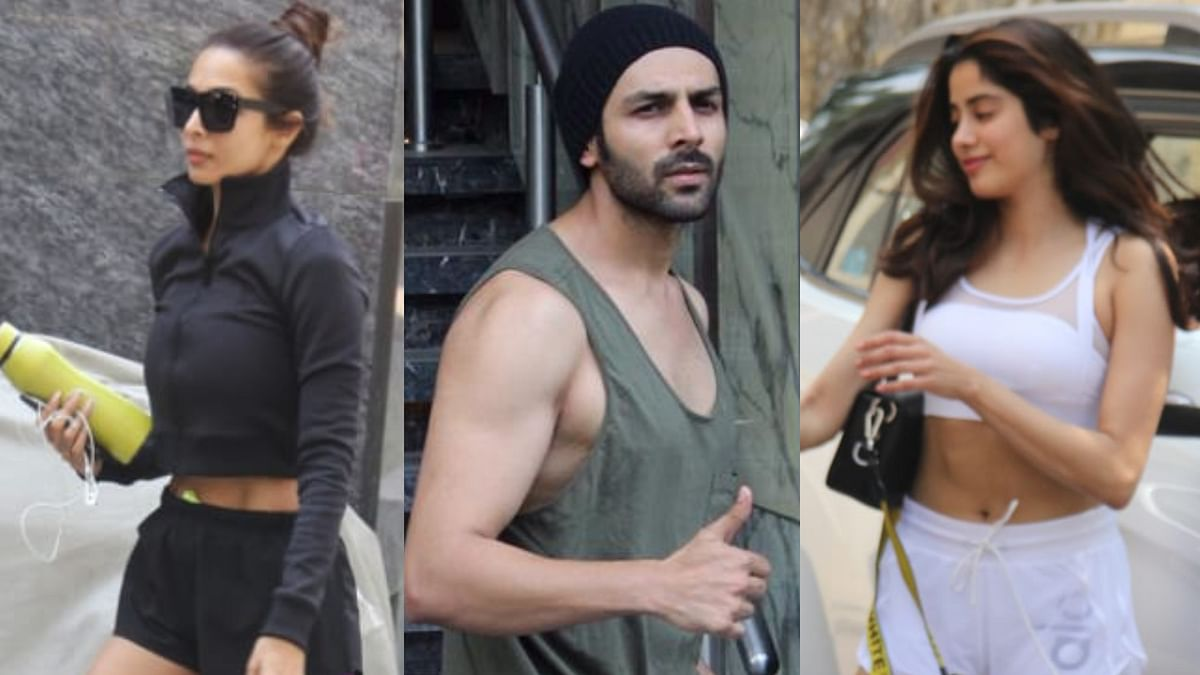 Janhvi, Malaika, Karthik Aryan would rather work out than party this weekend
