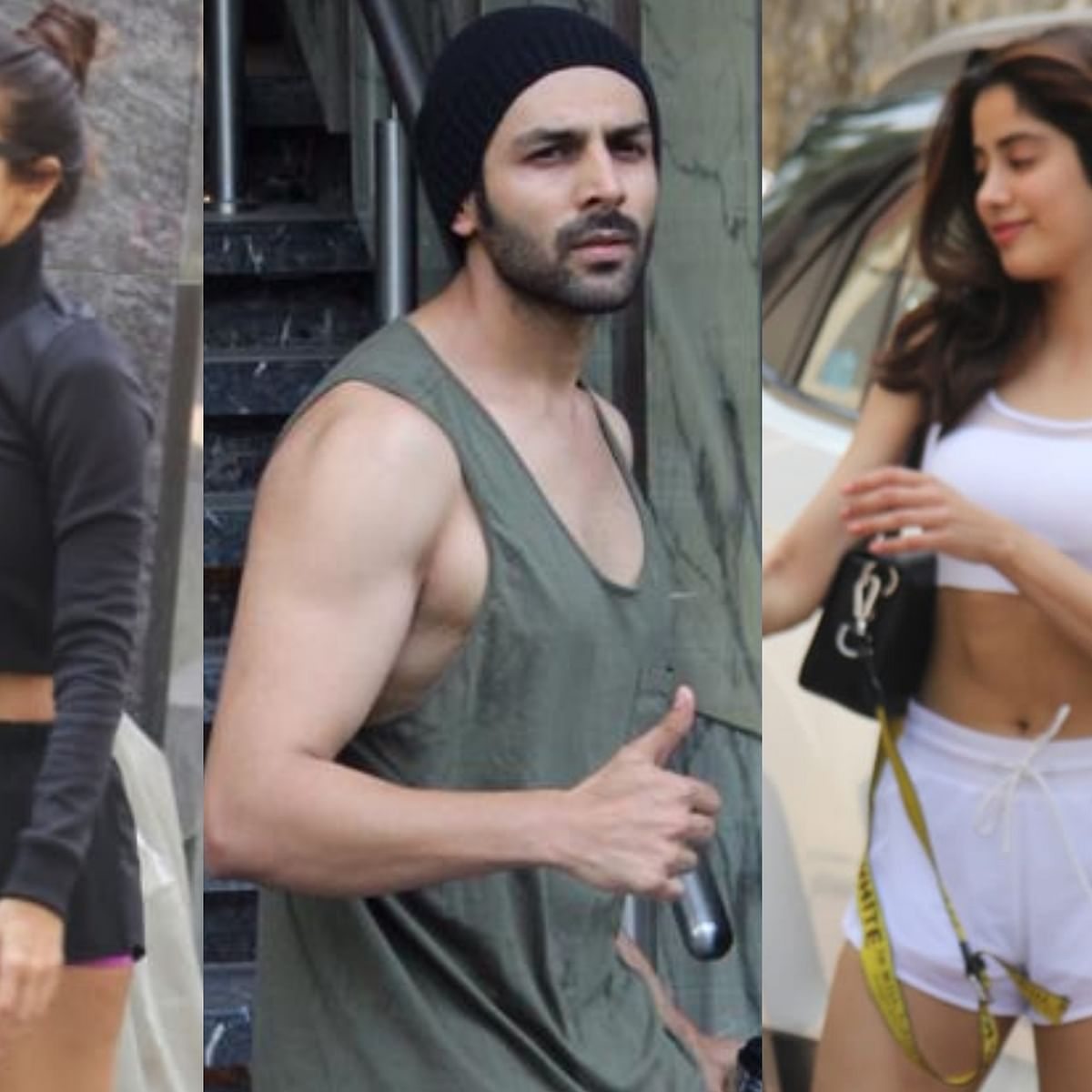 Janhvi, Malaika, Karthik Aryan would rather work out than party this weekend