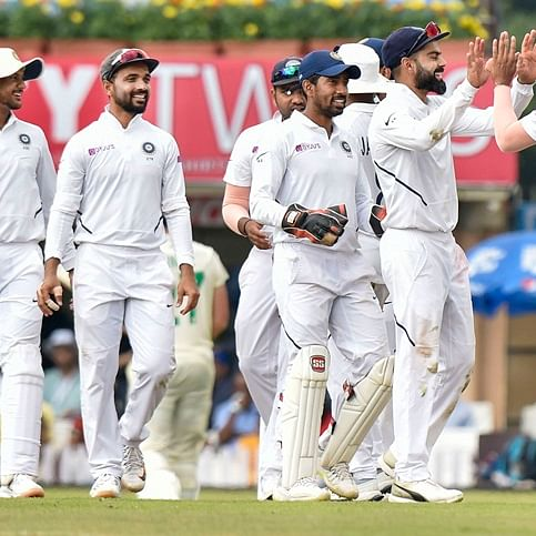 India vs South Africa- 3rd Test: India wins by an innings and 202 runs, complete 3-0 whitewash