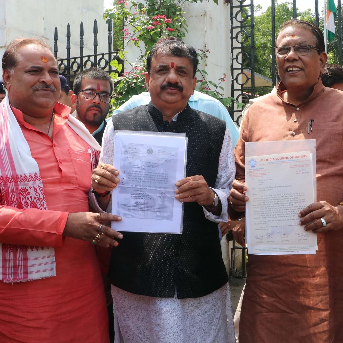 Bhopal: BJP submits memo against change in procedure of mayor's election