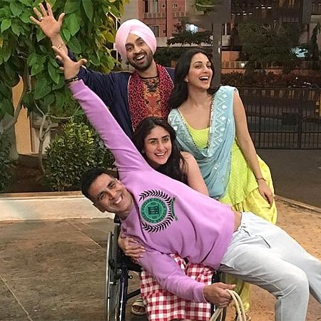 Watch: Akshay Kumar nails Bala Challenge with team 'Good Newwz'