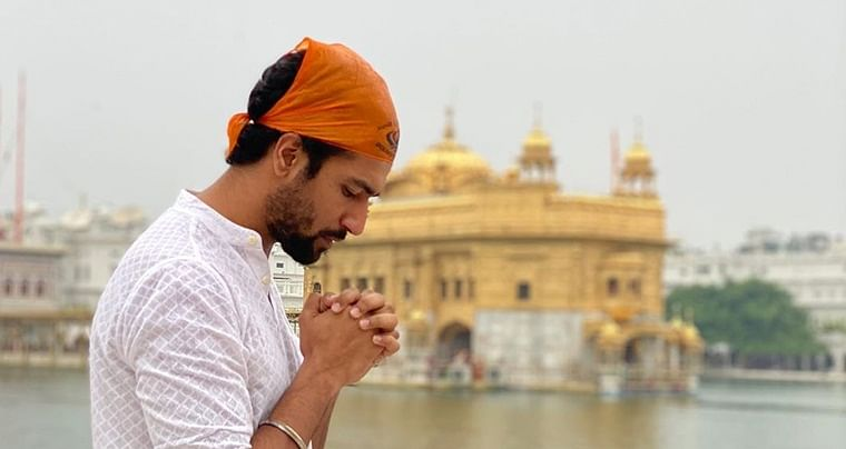 Vicky Kaushal visits Golden Temple ahead of 'Sardar Udham Singh'