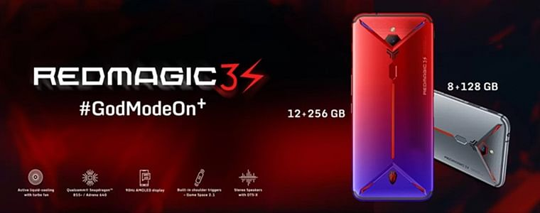Nubia unveils Red Magic 3S with Snapdragon 855+ chip in India