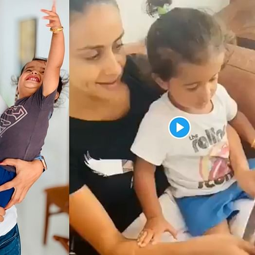 Watch: Gul Panag's son now recognises Modi on magazines, and even the PM thinks it's adorable