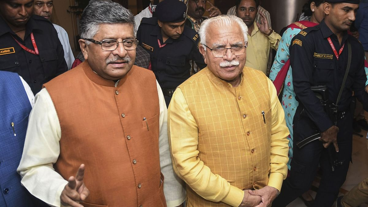 Haryana's fate sealed: Manohar Lal Khattar to take oath as Chief Minister on Sunday