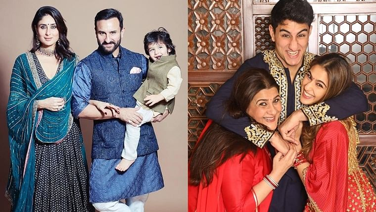 Bollywood's 'Modern Family' the Pataudis are every bit royalty in these Diwali portraits