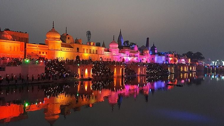 Security heightened in Ayodhya in view of impending court verdict on Ram Janambhoomi issue