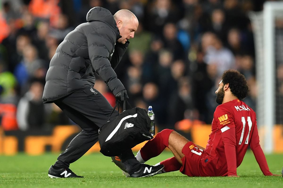 Salah's ankle 'nothing to worry about': Jurgen Klopp