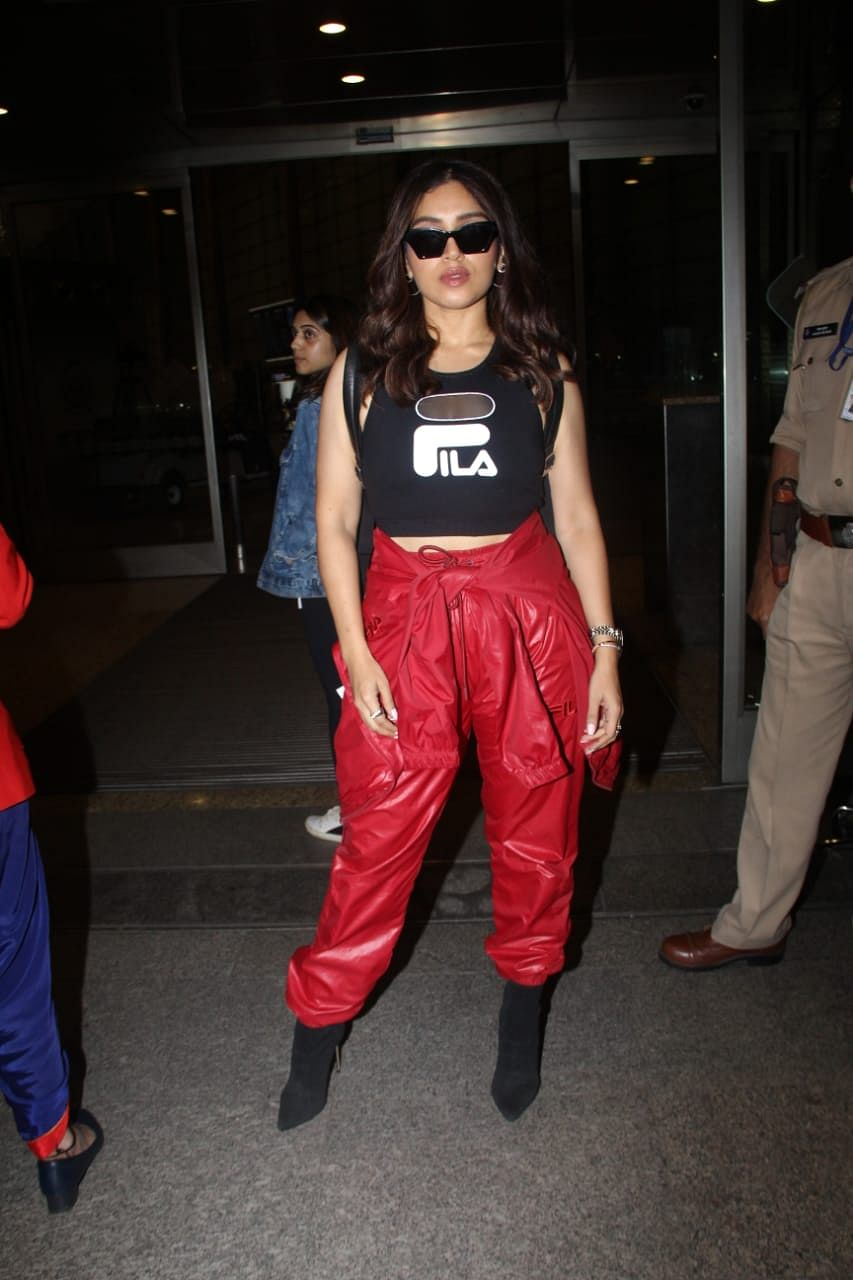 Bhumi Pednekar at Mumbai airport