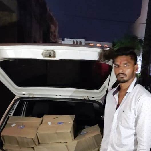 Ujjain: Illegal wine seized, accused arrested