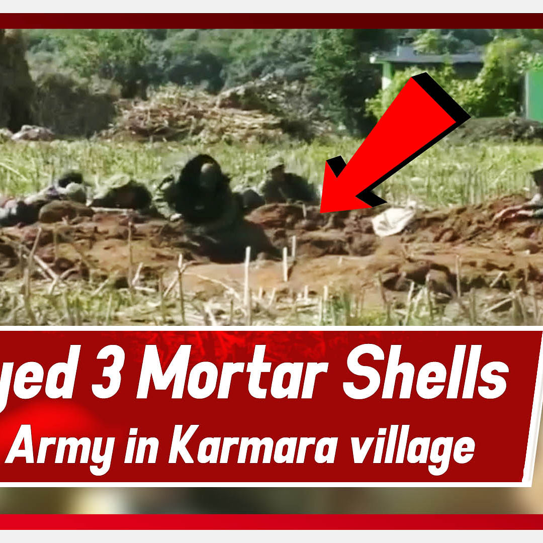 Indian Army Destroyed 3 Mortar Shells Of Pakistan Army In Karmara Village Of Poonch, J&K