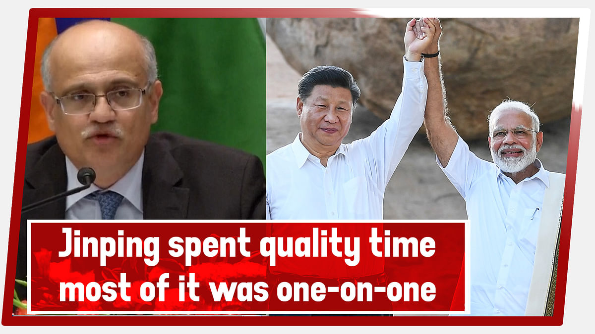 Vijay Gokhale, Foreign Secretary: President Jinping spent quality time, most of it was one-on-one