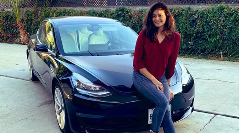 Pooja Batra gets herself an electric Tesla Model 3 worth Rs 70 Lakhs