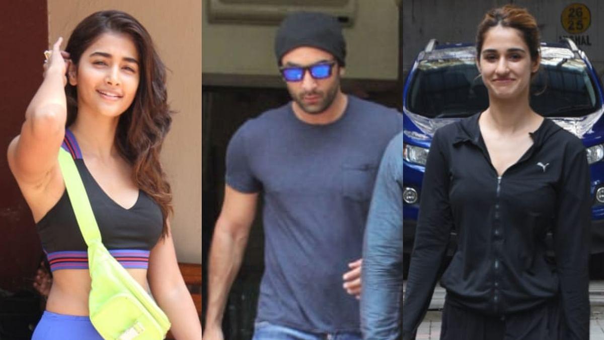 Disha Patani, Ranbir Kapoor, Pooja Hegde, and other celebs clicked across Mumbai