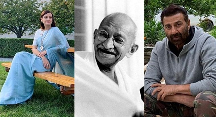 Dia Mirza to Sunny Deol, B'town celebs pay tribute to Mahatma Gandhi on 150th birth anniversary