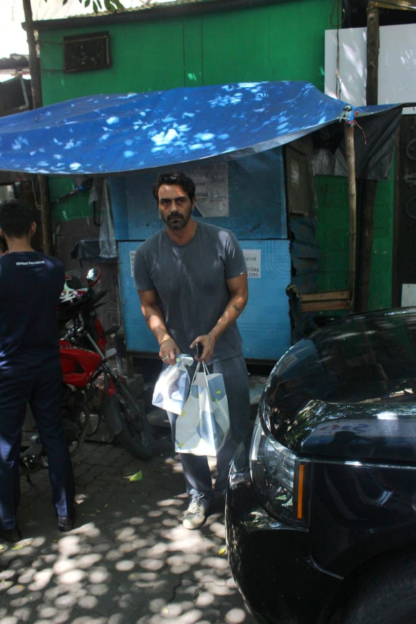 Arjun Rampal spotted at Suzette