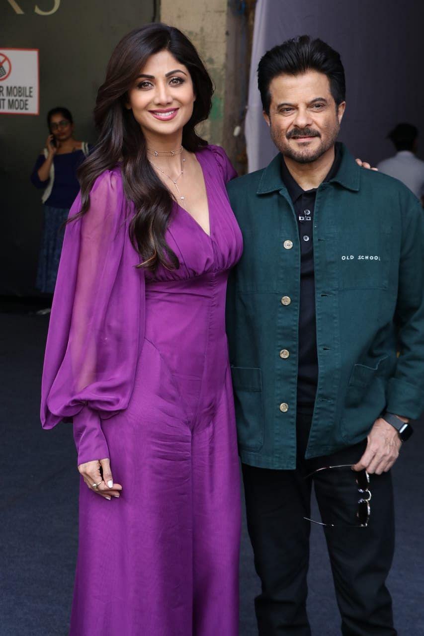 Shilpa Shetty with Anil Kapoor