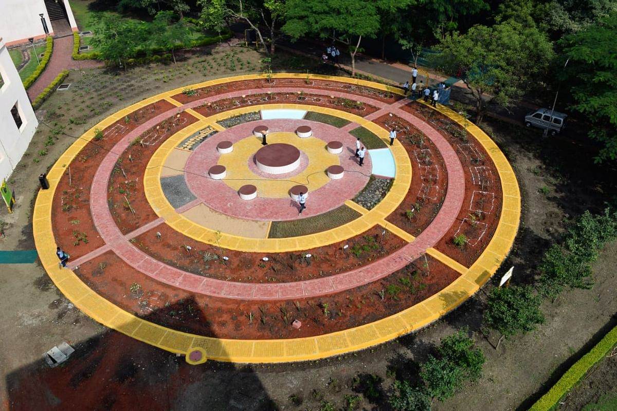 Indore: IIM Indore sets up spiritual garden for students to bust stress
