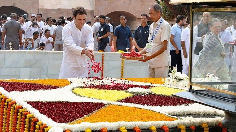 Gandhi Jayanti LIVE Updates: Rahul Gandhi pays tribute to  Mahatma Gandhi, joins 'Gandhi Sandesh Yatra'