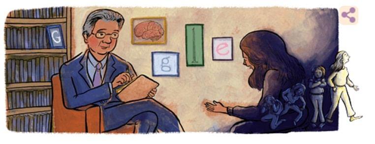 Google Doodle of American psychiatrist Dr. Hebert Kleber