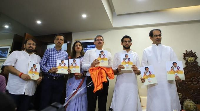 Shiv Sena releases its 2019 Maha Election manifesto