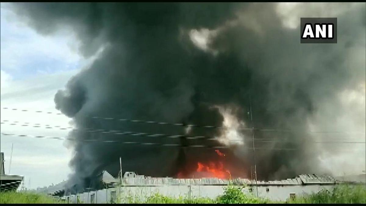 Mumbai: Godown in Bhiwandi catches fire