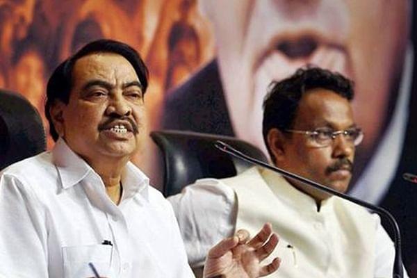 BJP drops Eknath Khadse & Vinod Tawde