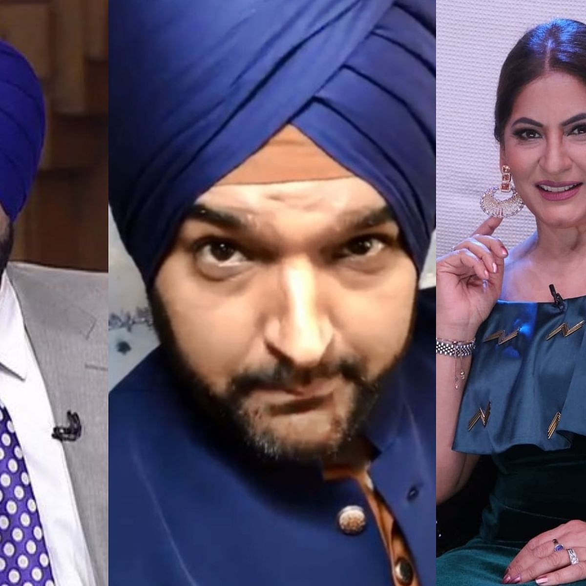 Watch Video: Kapil Sharma dresses up as Navjot Singh Sidhu, taunts Archana Puran Singh