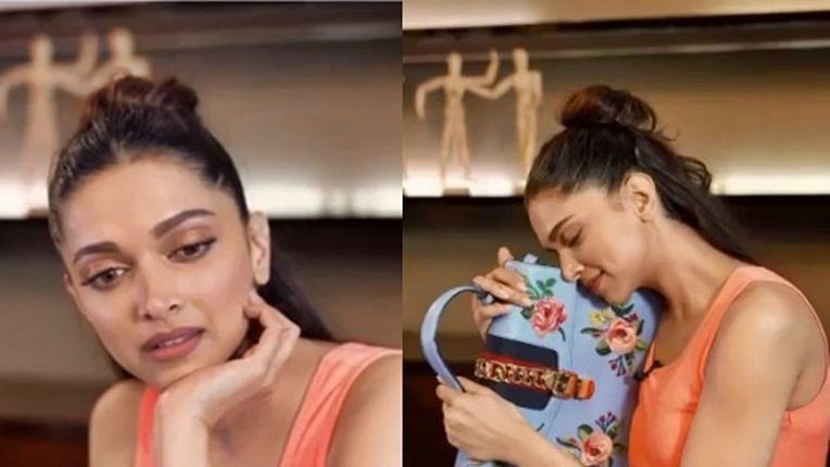 Watch Deepika Padukone mysteriously 'part ways' with designer bag