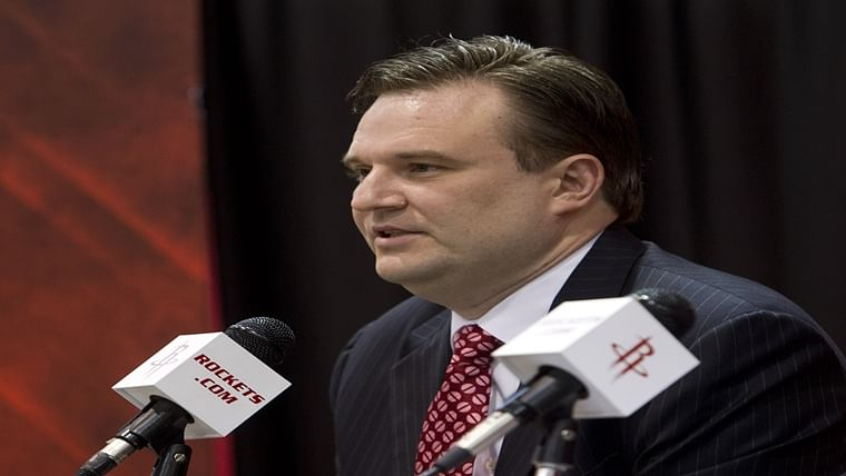 Houston Rockets General Manager Daryl Morey
