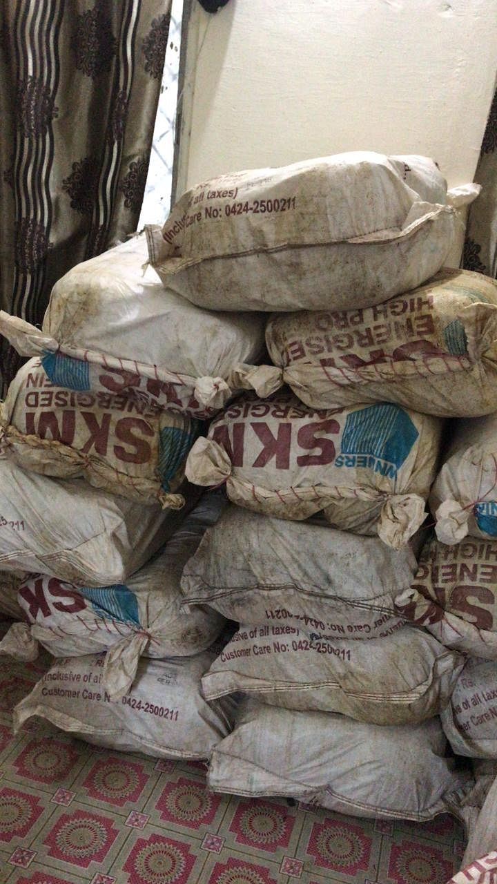 Indore: DRI seized 673 kg Ganja worth Rs 1.25 cr. from Budhani