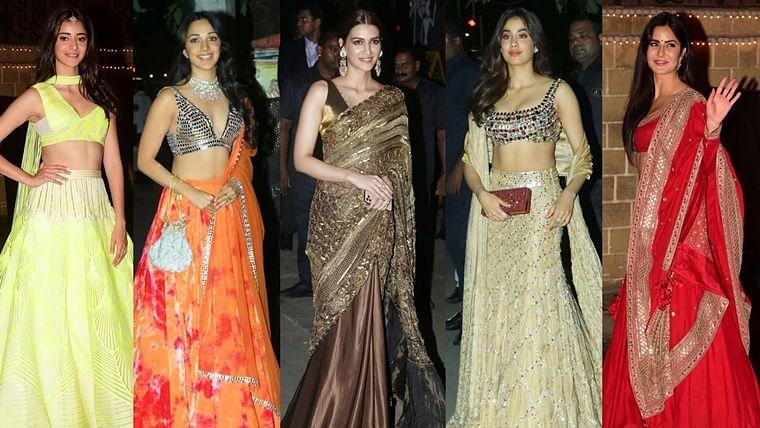 Janhvi Kapoor, Kriti Sanon, Kiara Advani: Single ladies who brought the house down at Bachchans' Diwali bash