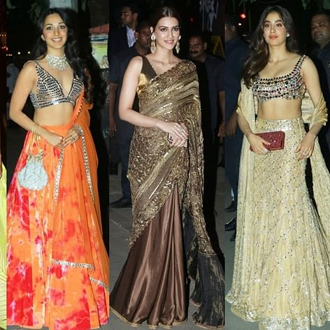 Janhvi Kapoor, Kriti Sanon, Kiara Advani: Single ladies who brought the house down at Bachchans' Diwali bash