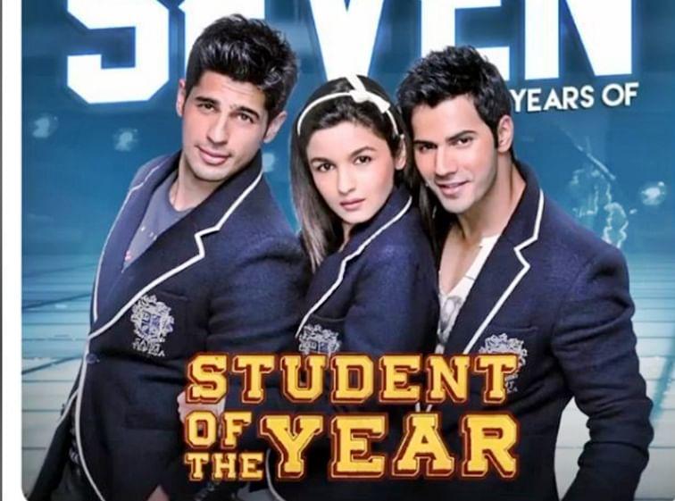 7th year of SOTY: Karan praises Alia, Varun and Sidharth!