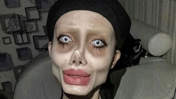 Iranian Instagram star Sahar Tabar posted Angelina Jolie-lookalike photos on Insta