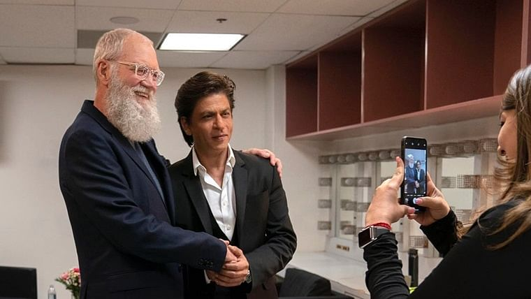 Watch: Shah Rukh Khan at his wittiest, romantic best in first trailer of 'My Next Guest With David Letterman'