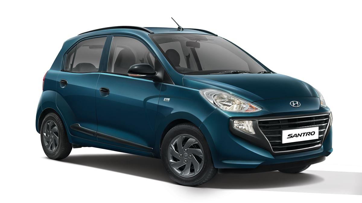 Hyundai launches New Santro Anniversary edition