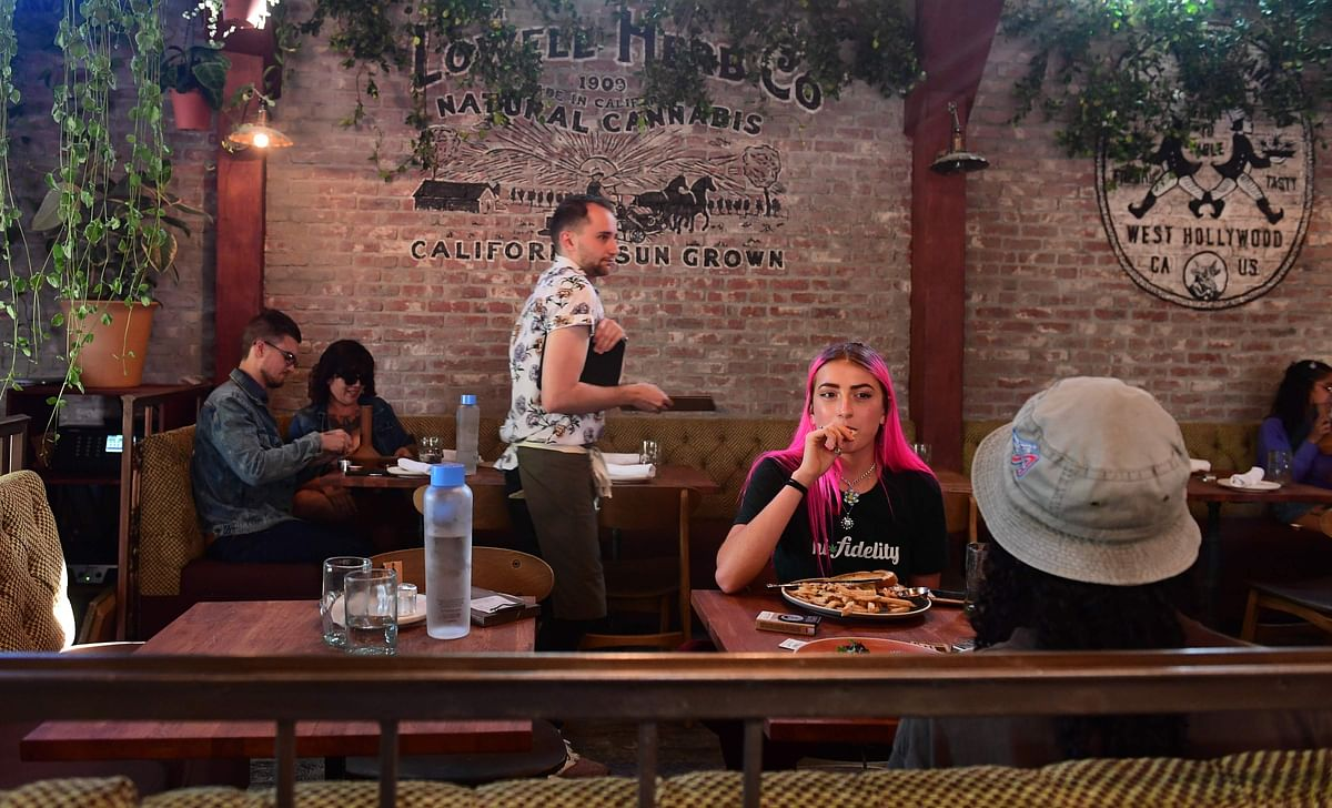 Offering array of weed products: US's 1st cannabis cafe in Hollywood