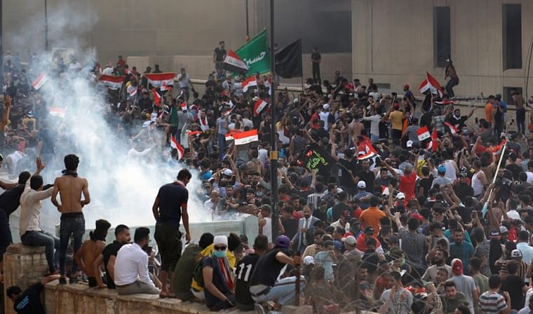 Iraq anti-government protest: Death toll rises to 34; over 1500 people injured